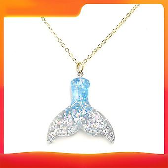 Fish Tail Pendentif Neclkace