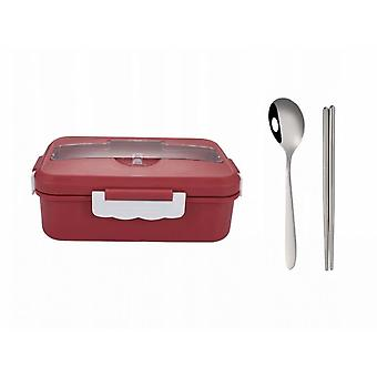 Children's Waterproof, Bento-style Bento Bento Bento Box With Five Compartments-age Range 3 To 7 Years Ideal Size Of The Bisphenol Room And Safe Mater