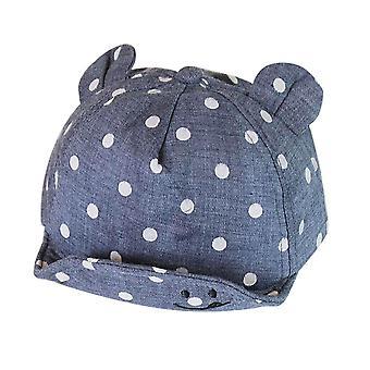 Vauvan hattu korvalla