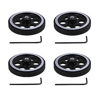 מפענחי מעגלים מקודדים 4pcs מקודד מטר גלגל 200x6mm אביזרים סיבוביים עבור suuply תעשייתי