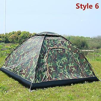 في الهواء الطلق التخييم للطي خيمة أوتوماتيكية 2 الناس شاطئ بسيط فتح سريع خيمة أوتوماتيكية