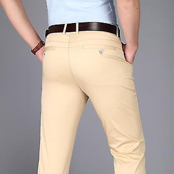 Men Suit Office High-quality Trousers Business Pants