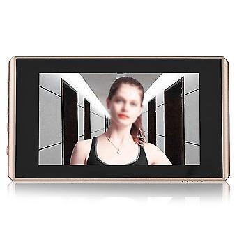 4.3inch الشاشة الرقمية متصفح الباب وجرس الباب