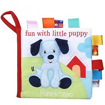 Soft Cloth Reading Books Newborn Early Learning Cognize Toys