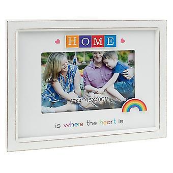 Rainbow Scrabble Frame 6x4 Home