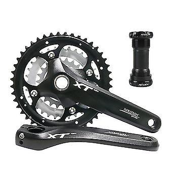 Crankset mountainbike 9/27 snelheid holle een tandwiel wiel crankset mtb racefiets onderdelen ketting ring