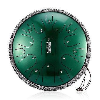 13 pouces 15 tons langue en acier tambour à main tambour d ton tambour éthéré yoga méditation percussion