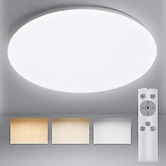 מנורות מנורות תאורת תקרה מתאים 18w 1600 לומן תקרת אורות אמבטיה עם cct שווה ערך לעמעם