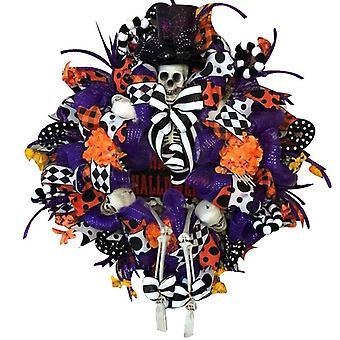 Halloween Wandtür Hängender Ornament Kranz für Home Party