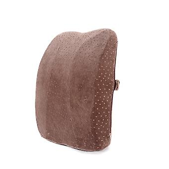 כרית מותניים זיכרון כותנה מעובה מותניים אחורית כרית המכונית איטי ריבאונד גב כרית המשרד מושב אחורי וכריות תמיכה מותני