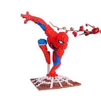Spiderman Kleine Deeltjes Bouwstenen Educatief Speelgoed