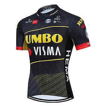 2021 Summer Men Short Sleeve Cycling Jersey Maillot Ciclismo Anti-uv Shirt Bike Bib Shorts Mtb Road Bicycle Clothing Set