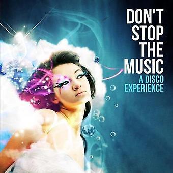 Don't Stop musik-en Disco oplevelsen - Don't Stop musik-en Disco erfaringer [CD] USA importerer