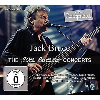 Jack Bruce - Rockpalast: The 50th Birthday Concerts [CD] USA import