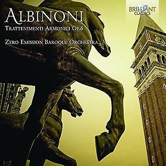 Albinoni - Trattenimenti Armonici Op.6 [CD] USA import