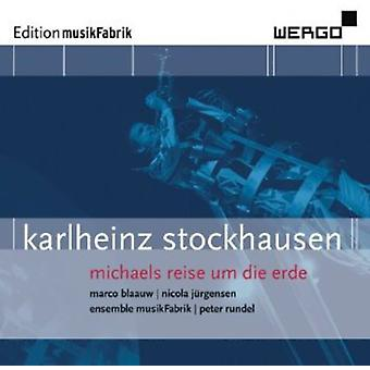 K. Stockhausen - Karlheinz Stockhausen: Michaels Reise Un Die Erde [CD] USA import