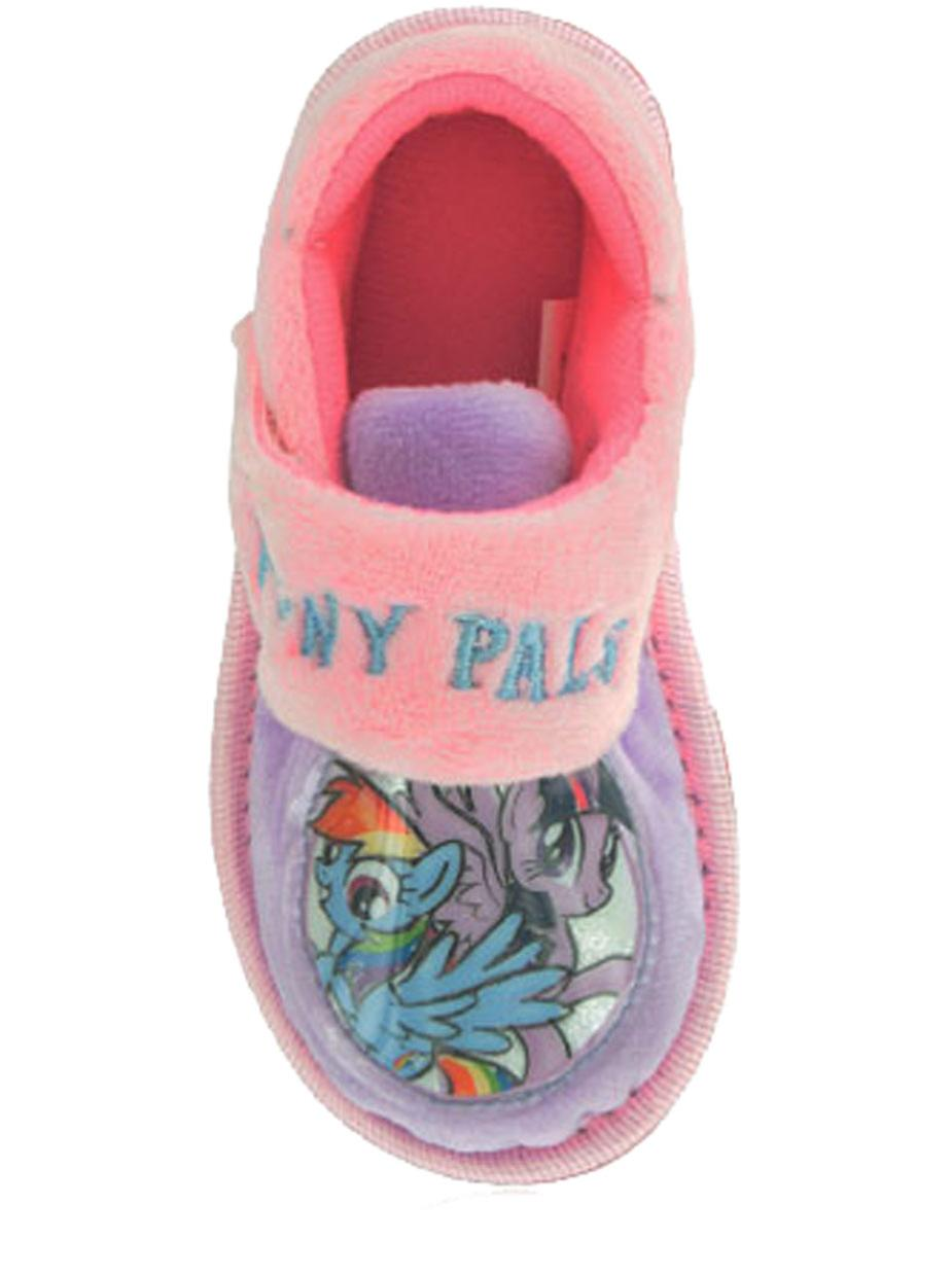 My Little Pony Girls Pink Slippers