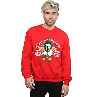 Elf Men's Cotton Headed Ninny Muggins Sweatshirt
