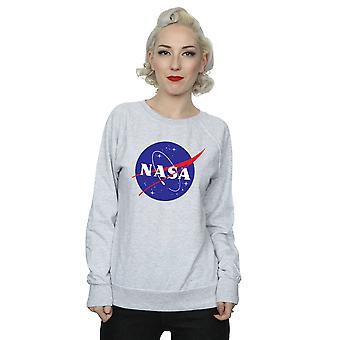 NASA Insignia classico Logo Felpa donna