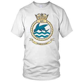 Koninklijke Marine Fleet Air Arm 820 Naval Air Squadron Kids T Shirt