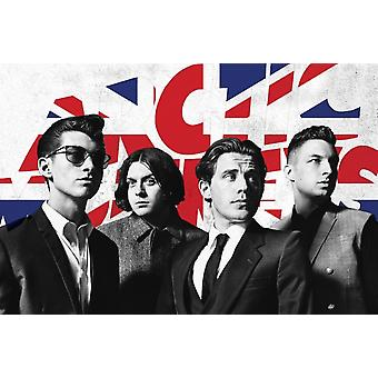 Arctic Monkeys costumes affiche Poster Print