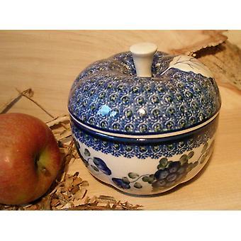 Friptură de mere, Diametru 12 cm, 12 cm înălțime, tradiție 9 Boleslawiec aardewerk-BSN 2565