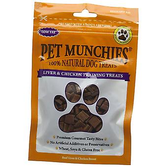 Pet Munchies Liver and Chicken Training Dog Treat 50g, Pack of 8
