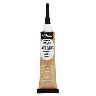 PEBEO Cerne Relief Outliner 20ml (cuivre)
