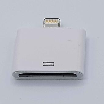 30 PIN to 8 Pin cable Adapter-for Ipad/iPhone-White
