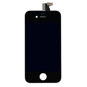 LCD display aanrakingspaneel complete eenheid voor Apple iPhone 4-zwart
