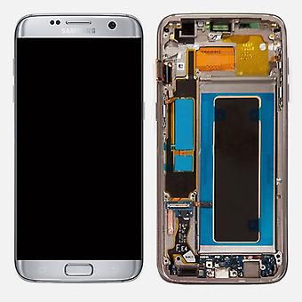 Display LCD complete set GH97-18533 B silver for Samsung Galaxy S7 edge G935 G935F