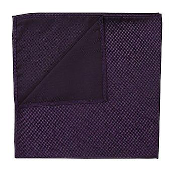 Cadbury Purple Panama Silk Pocket Square