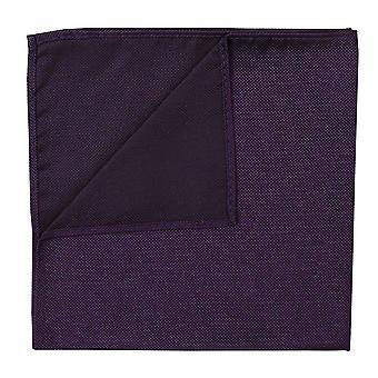 Cadbury Purple Panama soie mouchoir de poche