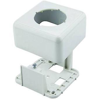 Telegärtner Network outlet Surface-mount CAT 6A Alpine white