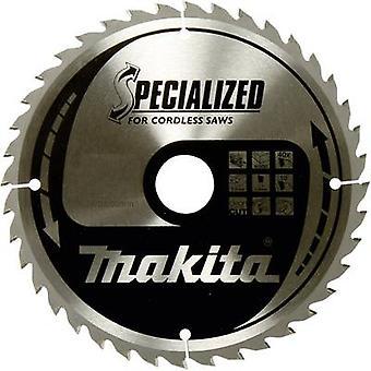 Makita SPECIALIZED B-32954 Carbide metaal cirkelzaagblad 165 x 20 x 1 mm aantal KPV: 40 1 PC (s)
