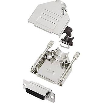 encitech DTCK15-HDS26-K 6355-0062-12 D-SUB-astia sarja 180 ° nastojen luku määrä: 26 juotos ämpäri 1 sarja