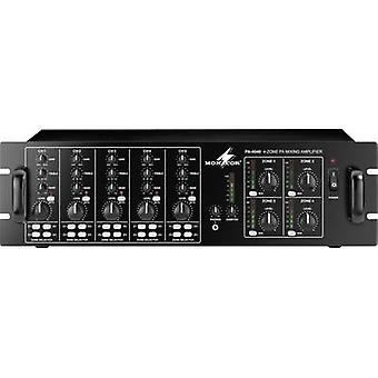 MONACOR PA-4040 amplificador PA 40 W 4-Zone
