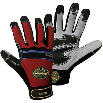 FerdyF. Power 1910 Clarino faux leather Work glove Size (gloves): 7, S EN 388 CAT II 1 Pair