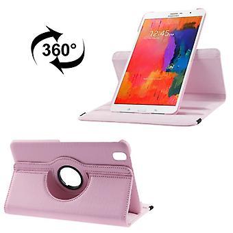 Schutzhülle PU Tablettasche (Flip Quer) für Samsung Galaxy Tab Pro 8.4 / T320 Rosa