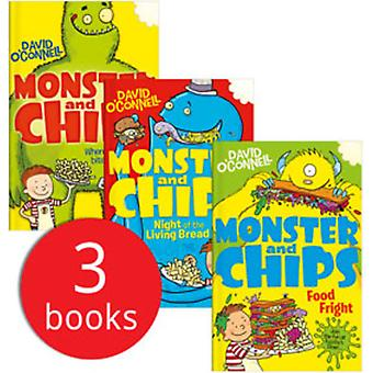 Monstro & Chips Collection - 3 livros