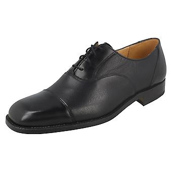 Mens Grenson Lace Up Leather Shoes 'Penrith'