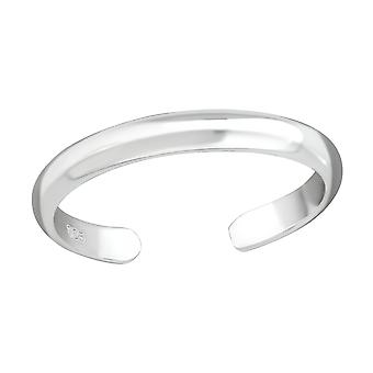 2mm Band - 925 Sterling Silver tå ringar - W37281X
