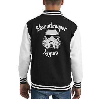 Original Stormtrooper Legion Heavy Metal Kid's Varsity Jacket