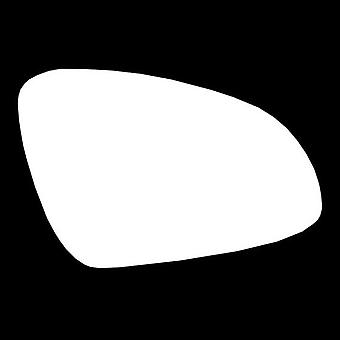 Vidrio de espejo stick-on lateral del conductor derecho para Opel ASTRA J 2009-2017
