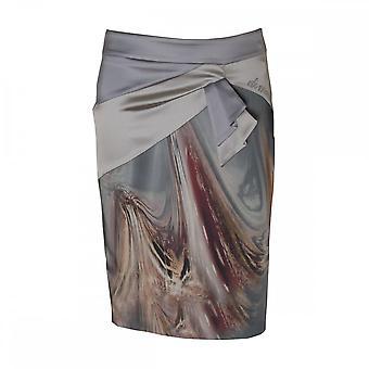 Dimare Italoian Print kjol Swarovski