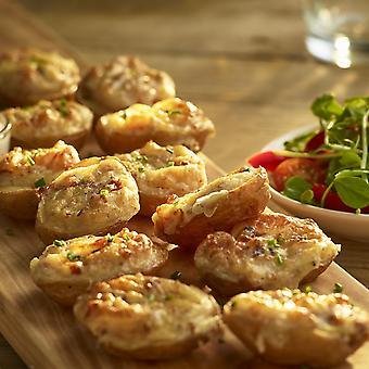 Bannisters Frozen Mini Cheese & Bacon Potato Skins