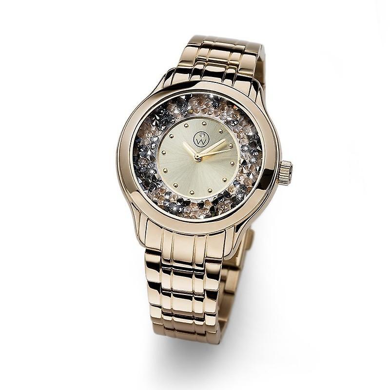 Oliver Weber Watch Rocks Steel Gold Plated