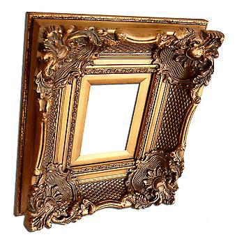 13x18 cm or 5x7 inch, gold Frame