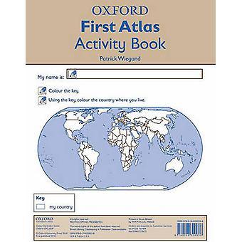 نشاط أكسفورد أول أطلس كتاب باتريك فيغاند-9780198300038 ب