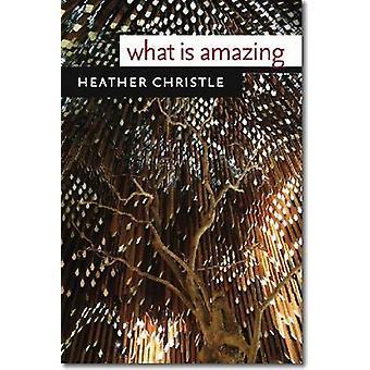 Wat is Amazing door Heather Christle - 9780819572776 boek